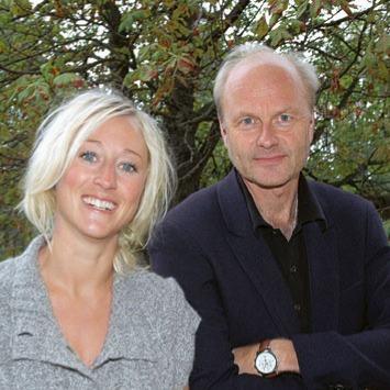 Finn Skårderud og Bente Sommerfeldt