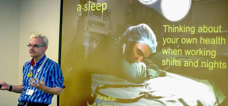 Britisk søvnekspert hos Fagfokus